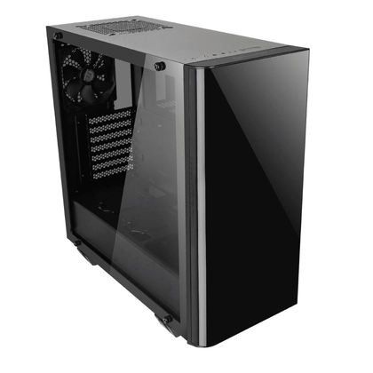 Thermaltake View 21 Tempered Glass Edition - Black - Store 974 | ستور ٩٧٤