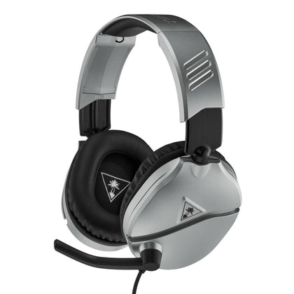 Turtle Beach Ear Force Recon 70 Multiplatform Gaming Headset - Silver - Store 974 | ستور ٩٧٤
