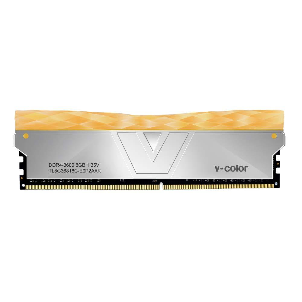 V-Color PRISM II 8GB 3600 MHz - Dark Gray (Orange Bar)