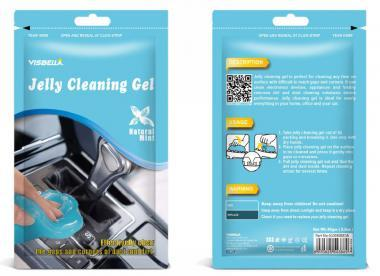 Visbella Jelly Dust Cleaning Gel - Natural Mint