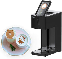 Wiiboox Sweetin Latte Art Coffee Printer - Black - Store 974 | ستور ٩٧٤