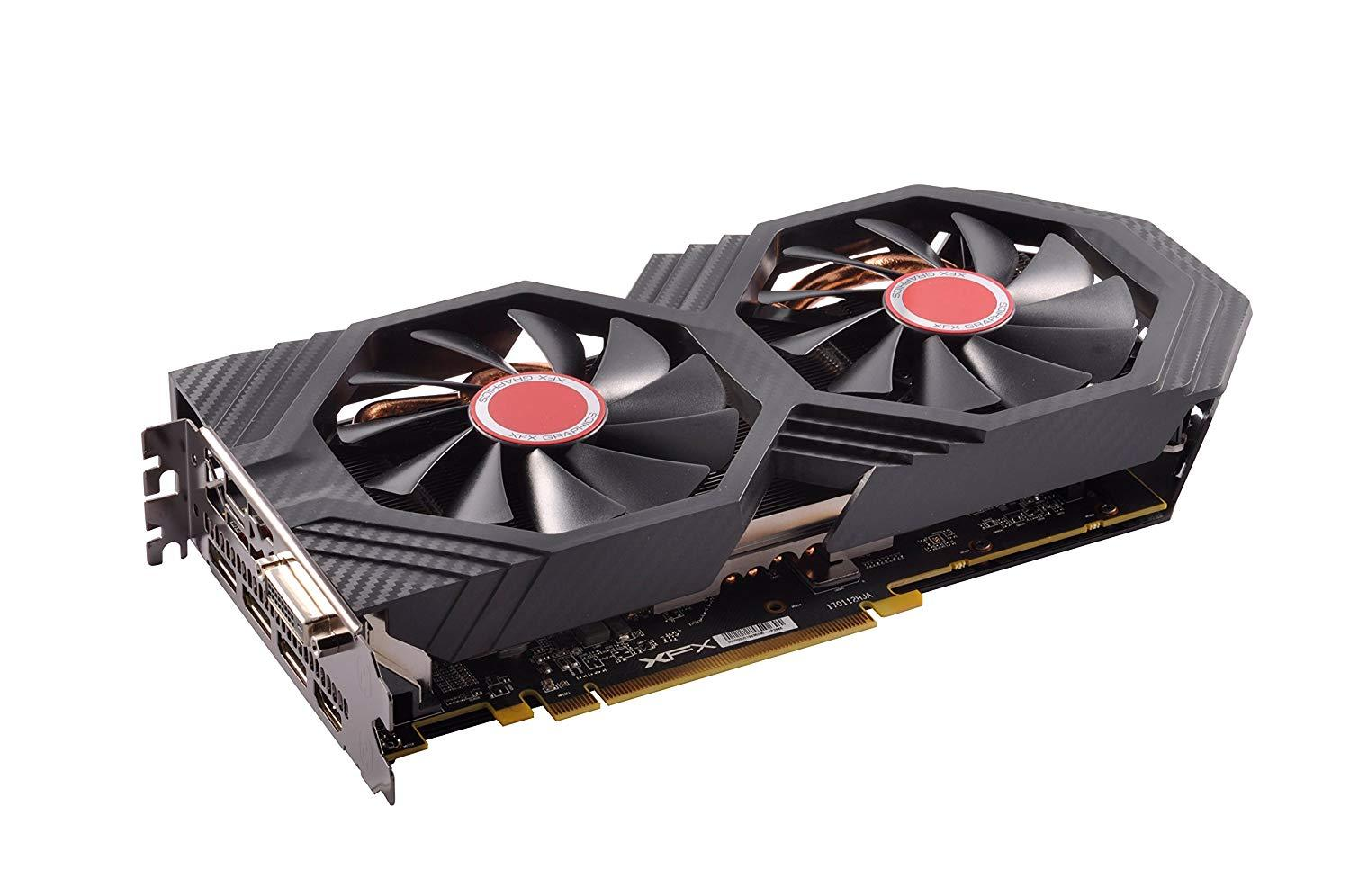 XFX Radeon RX 580 6GB GDDR5 PCI-E Gen 3x4 - Graphics Card - Black Edition