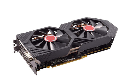 XFX Radeon RX 580 6GB GDDR5 PCI-E Gen 3x4 - Graphics Card - Black Edition - Store 974 | ستور ٩٧٤
