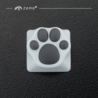 ZOMO Plus Metal Kitty Paw (White + Grey) - Store 974 | ستور ٩٧٤