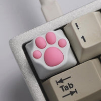 ZOMO Plus Metal Kitty Paw (White + Pink) - Store 974 | ستور ٩٧٤