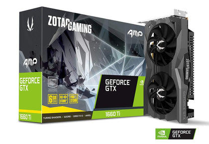 Zotac Gaming GeForce GTX 1660 Ti AMP 6GB GDDR6 PCI-E Gen 3x4 - Graphics Card - Store 974 | ستور ٩٧٤