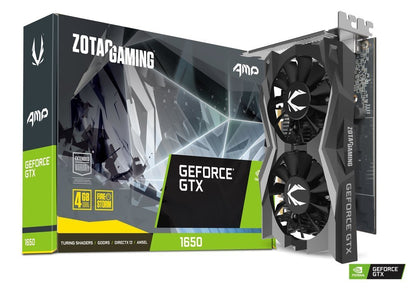 Zotac Gaming GTX 1650 AMP 4GB GDDR5 PCI-E Gen 3x4 - Graphics Card - Store 974 | ستور ٩٧٤