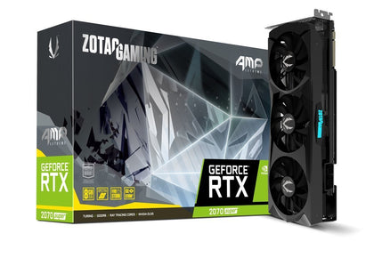 Zotac RTX 2070 Super AMP Extreme 8GB GDDR6 PCI-E Gen 4x4 - Graphics Card - Store 974 | ستور ٩٧٤