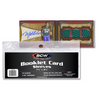 BCW Booklet Card Sleeves - Horizontal Card (50/PK)