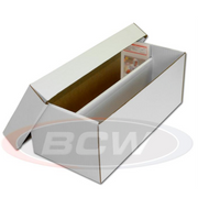 BCW Cardboard Storage Graded Shoe Box