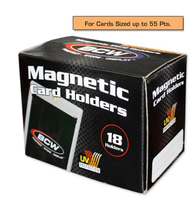 BCW 55 Point Magnetic Card Holder (16/Box)