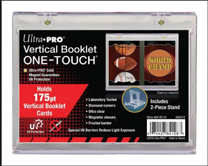 Ultra Pro Vertical Booklet ONE-TOUCH Magnetic Card Holder
