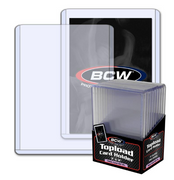 10 BCW 197 Point 5mm Thick Card Topload Holder - 197 Pt (10/PK) 1 Pack Jersey Re
