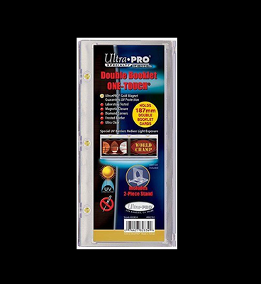 Ultra Pro Horizontal Booklet ONE-TOUCH Magnetic Card Holder 187mm Thick
