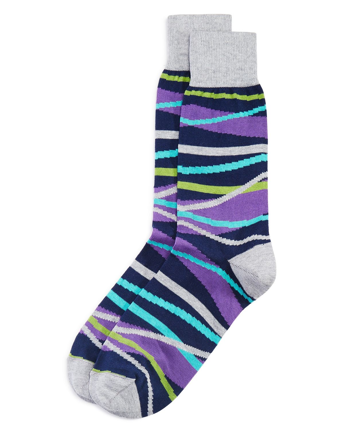 Modern Striped Socks