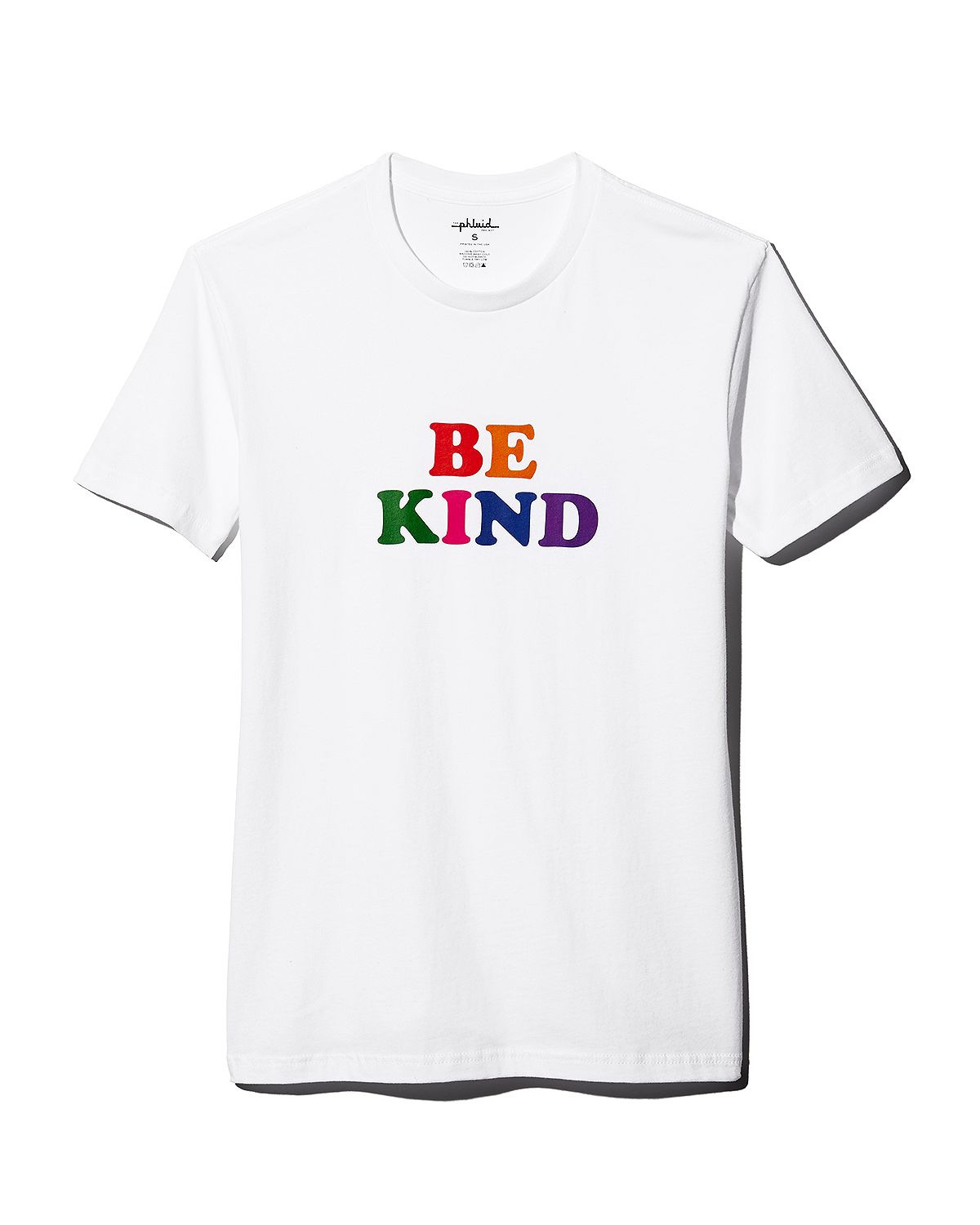 The Phluid Project Rainbow Be Kind Graphic Tee