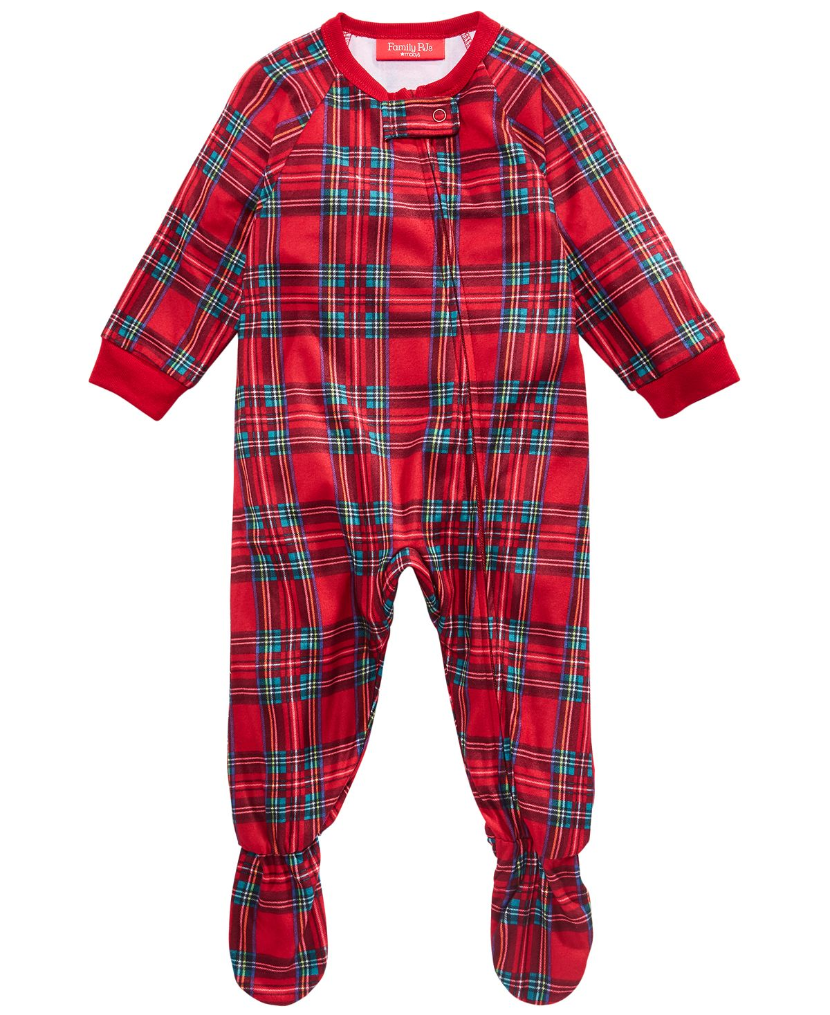 Matching Baby Brinkley Plaid Family Pajamas