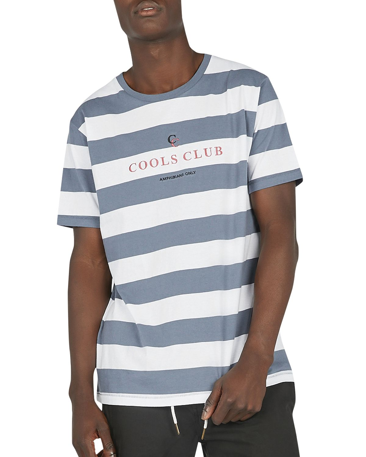 Barney Cools Club-embroidered Tee