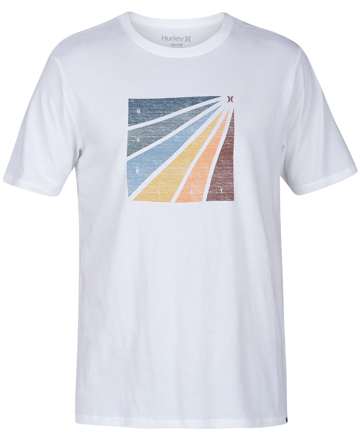 Hurley Prism Burt Enzyme Graphic T-shirt