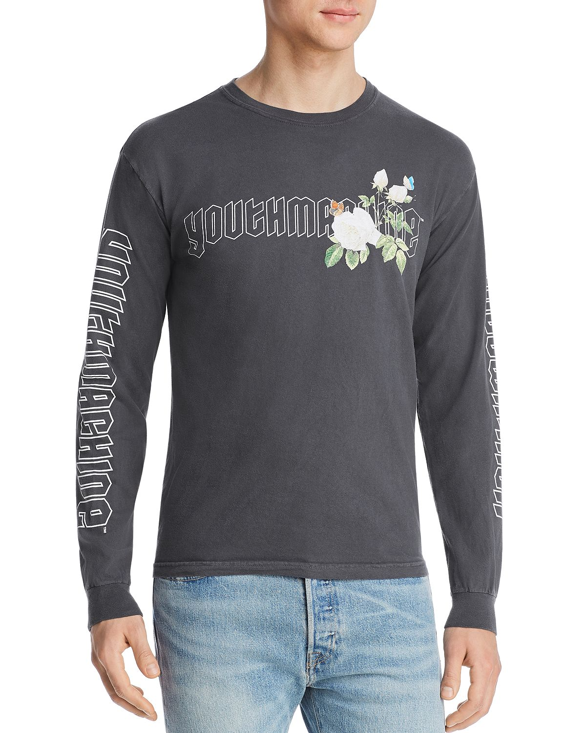 Youth Machine Secret Garden Long-sleeve Graphic Tee