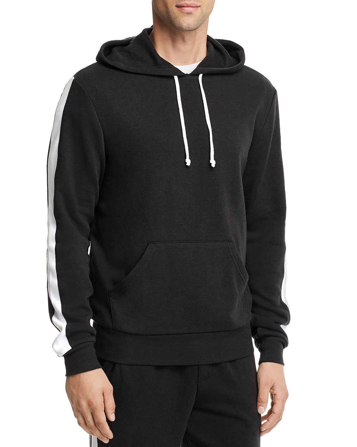 Alternative Apparel Side-stripe Hooded Sweatshirt