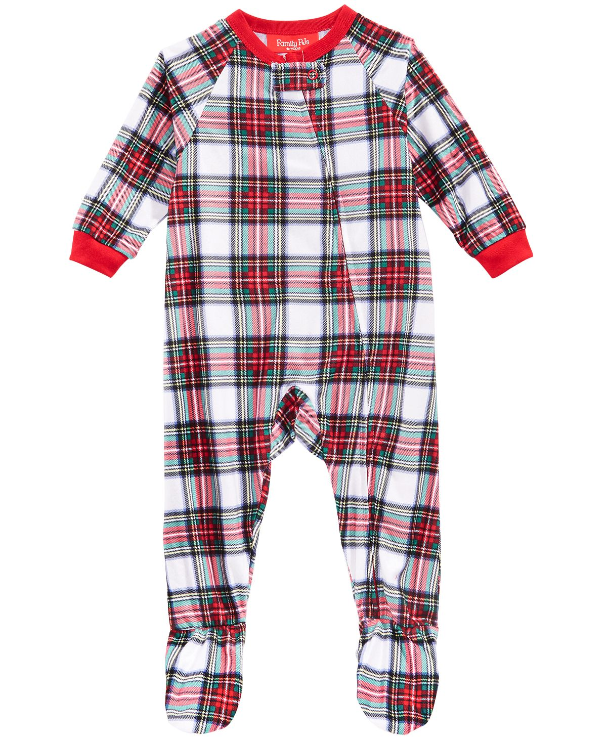 Matching Family Pajamas Baby Stewart Plaid Footed Pajamas