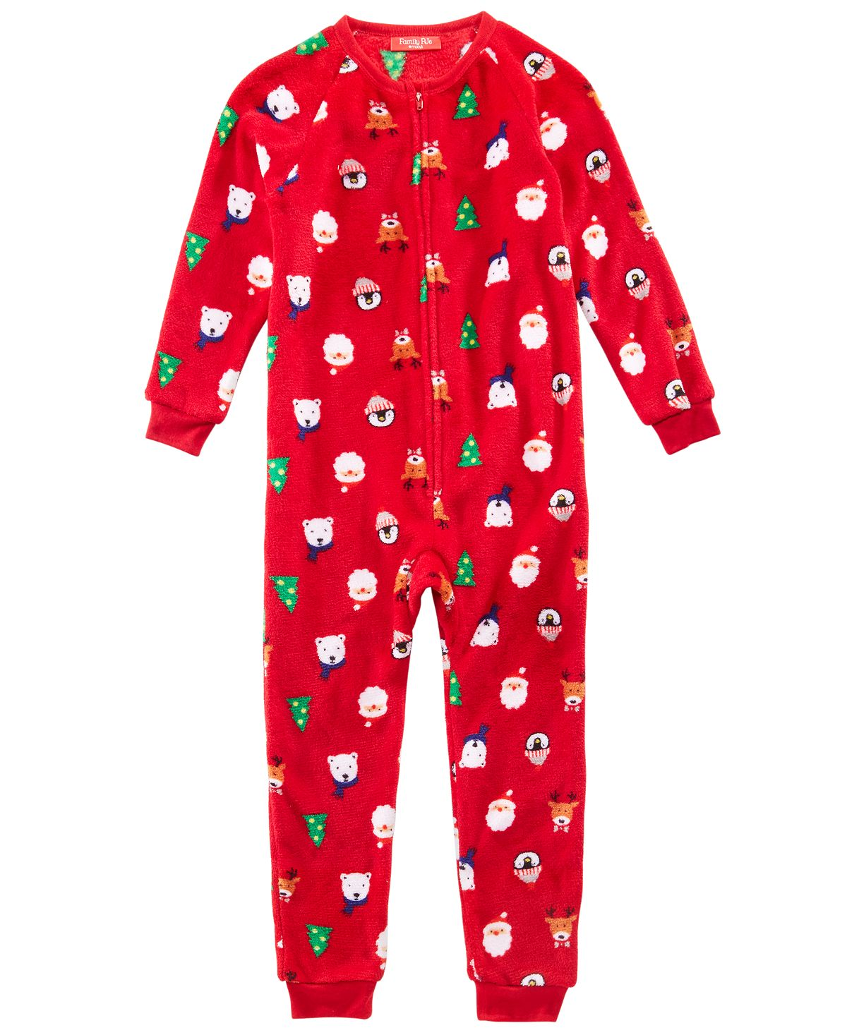 Matching Family Pajamas Kids Santa And Friends Pajamas