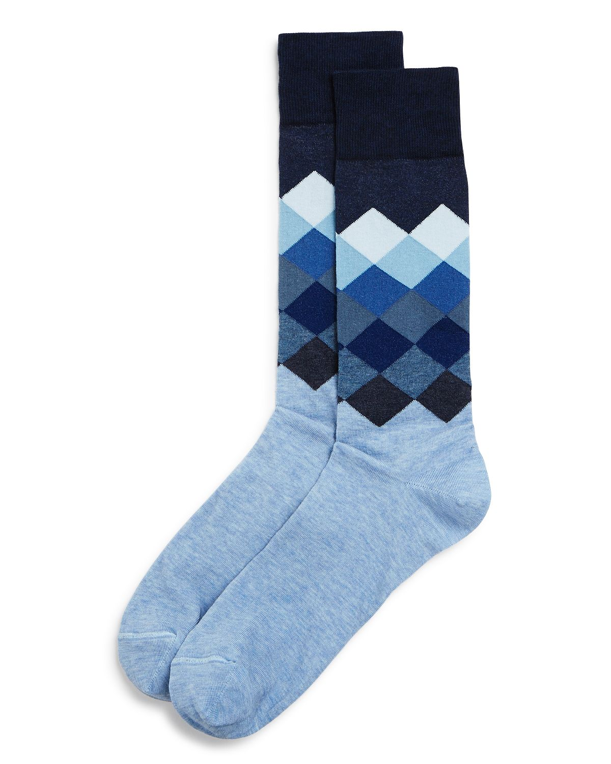 Gradient Diamond Socks