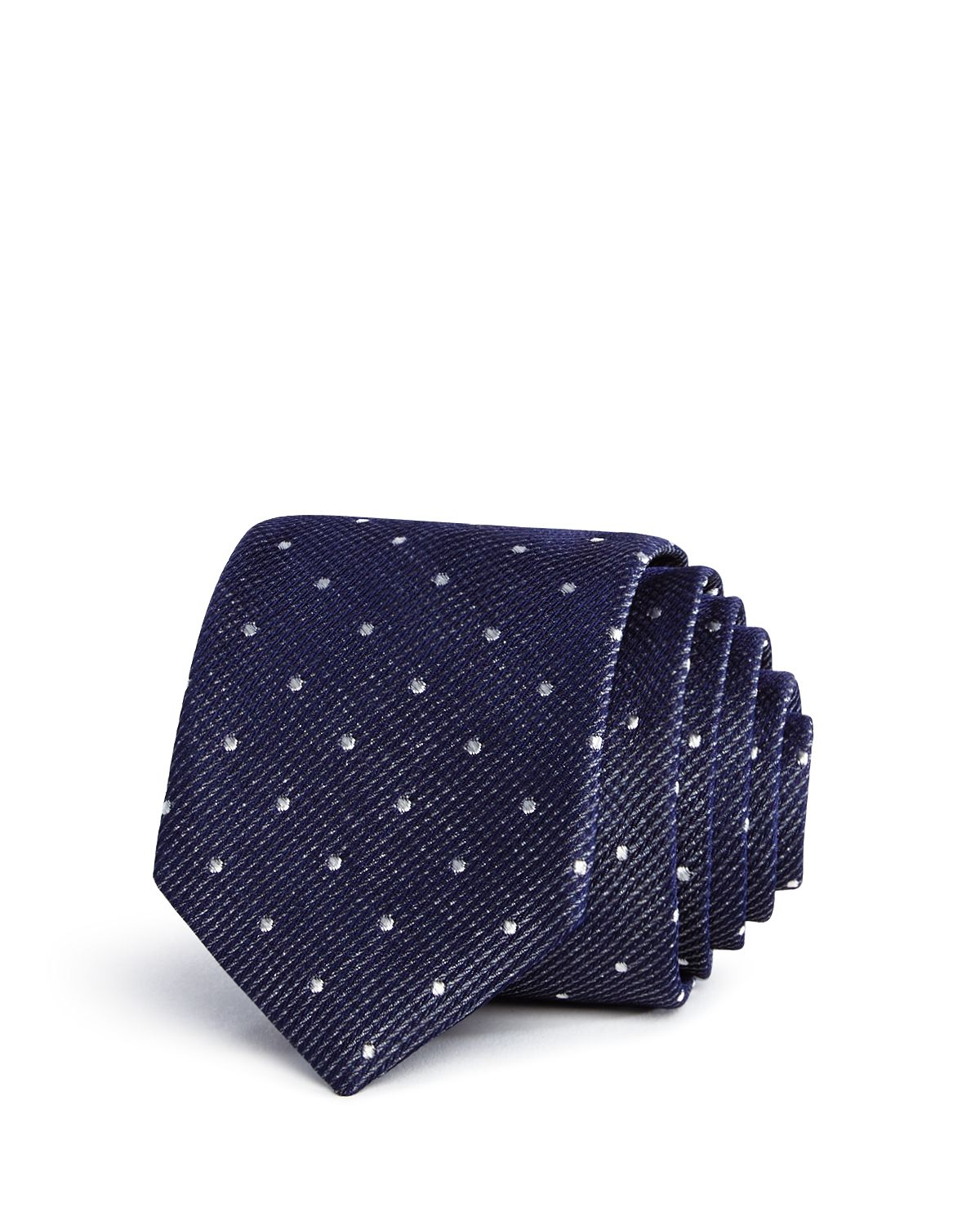 Ted Baker Textured Dot Skinny Tie