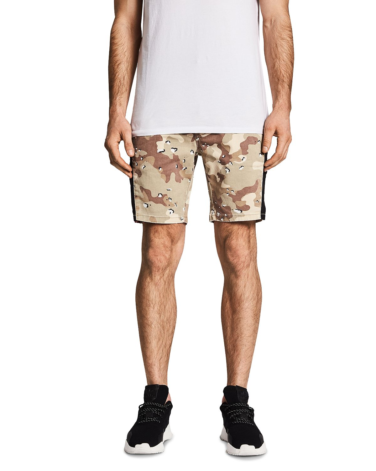 Nxp Hawkeye Camouflage-print Skinny Fit Tech Shorts