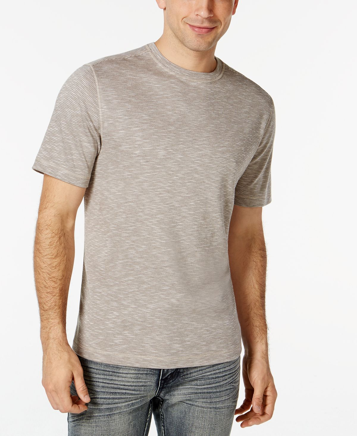 Tasso Elba Upf 30+ Performance Crew Neck Shirt
