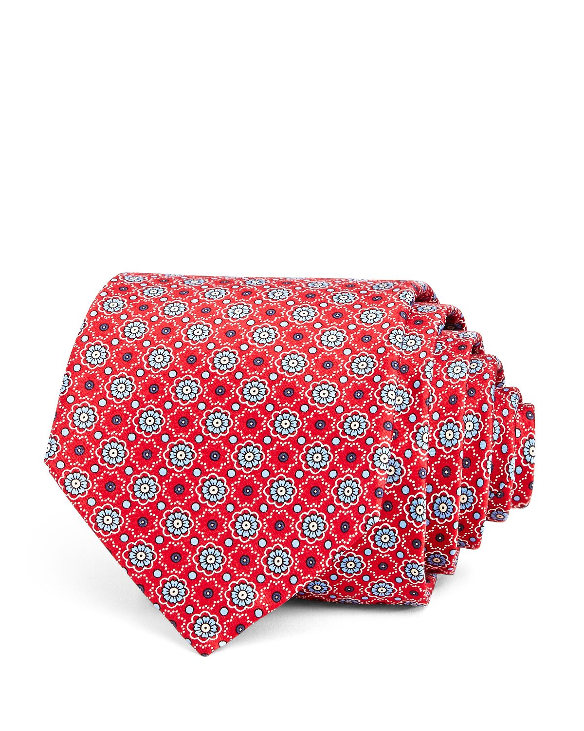 Mini Medallion Silk Classic Tie