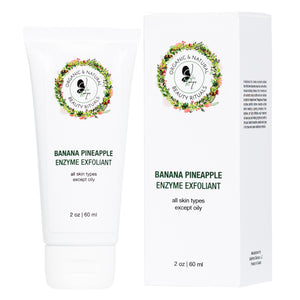 Banana Pineapple Enzyme Exfoliant