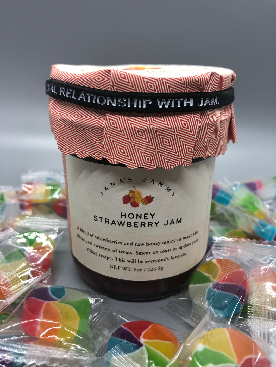 Honey strawberry