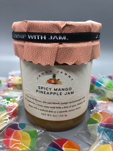 Spicy Mango Pineapple Jam