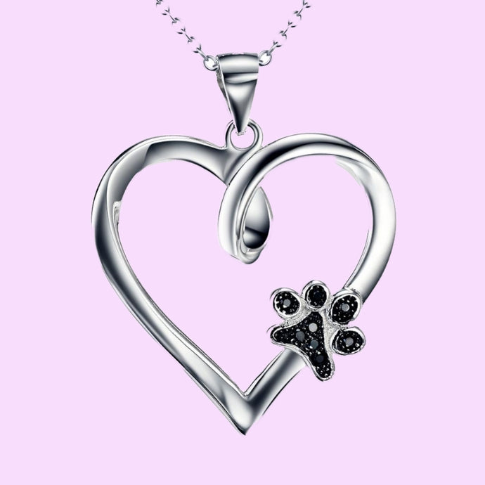 Collar Love Dogs Plata