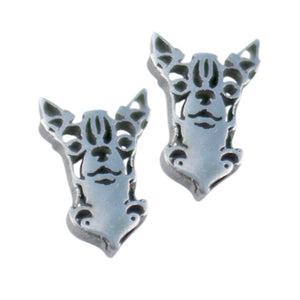 Pendientes bulldog frances frenchie frenchiemania