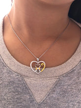 Collar plata de Ley Love Gatos