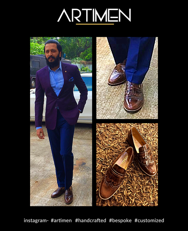 Tringes Loafers - Riteish Deshmukh, Bollywood Actor