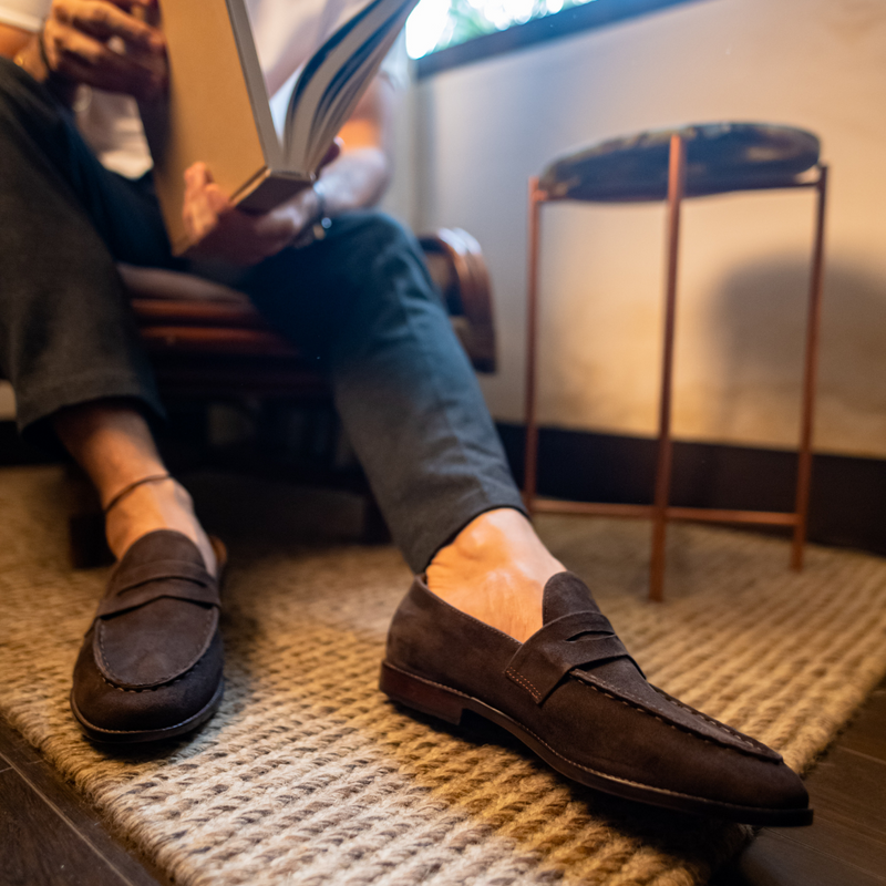 Suedo Penny Loafer