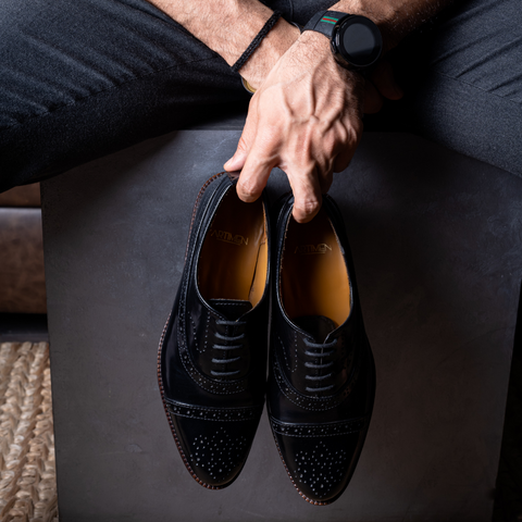 Duo-Bucks | Hand Painted Monk Loafer