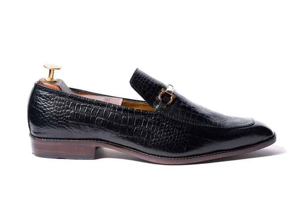 Horsebit Croc Loafer