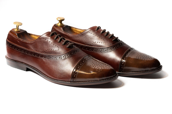 B-Tan Oxfords