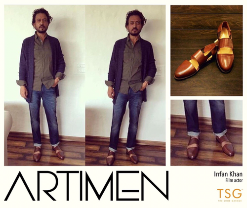 Irfan Khan in | Sandals