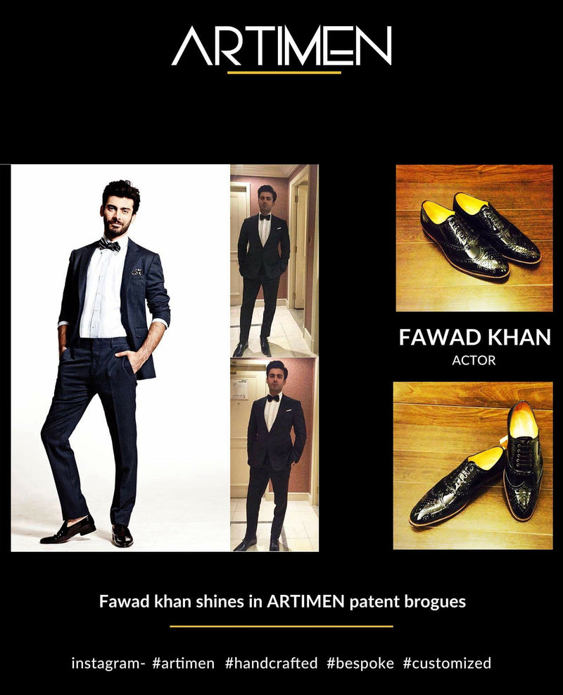 PAT Brogues - Fawad Khan, Actor