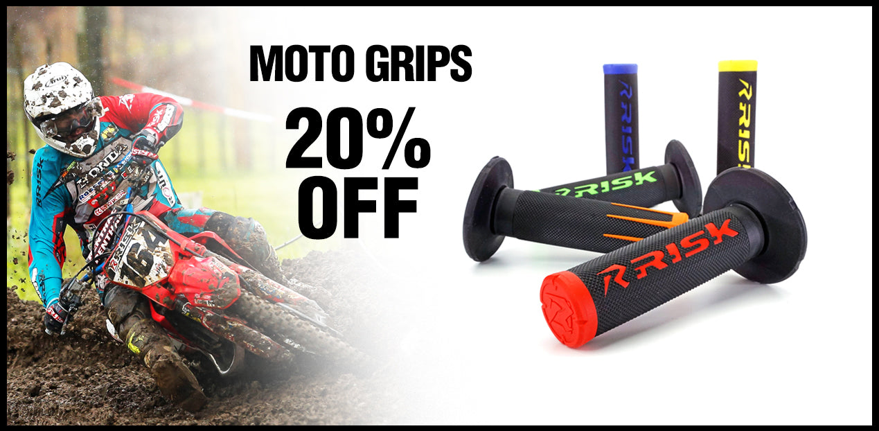 Risk Racing Fusion 2.0 Moto Grips
