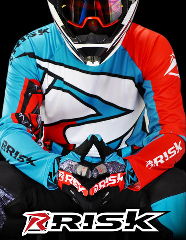 Risk Racing motocross gear for the MX race