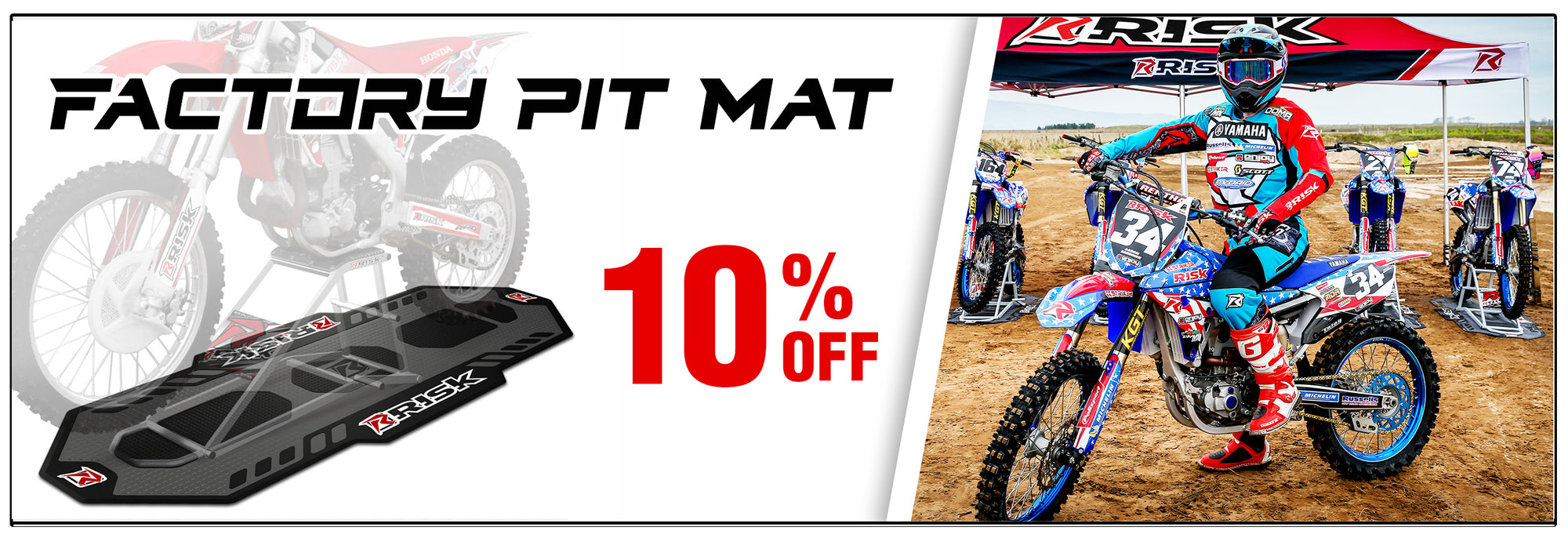 Deal of the Month - 10% off Factory Pit Mat