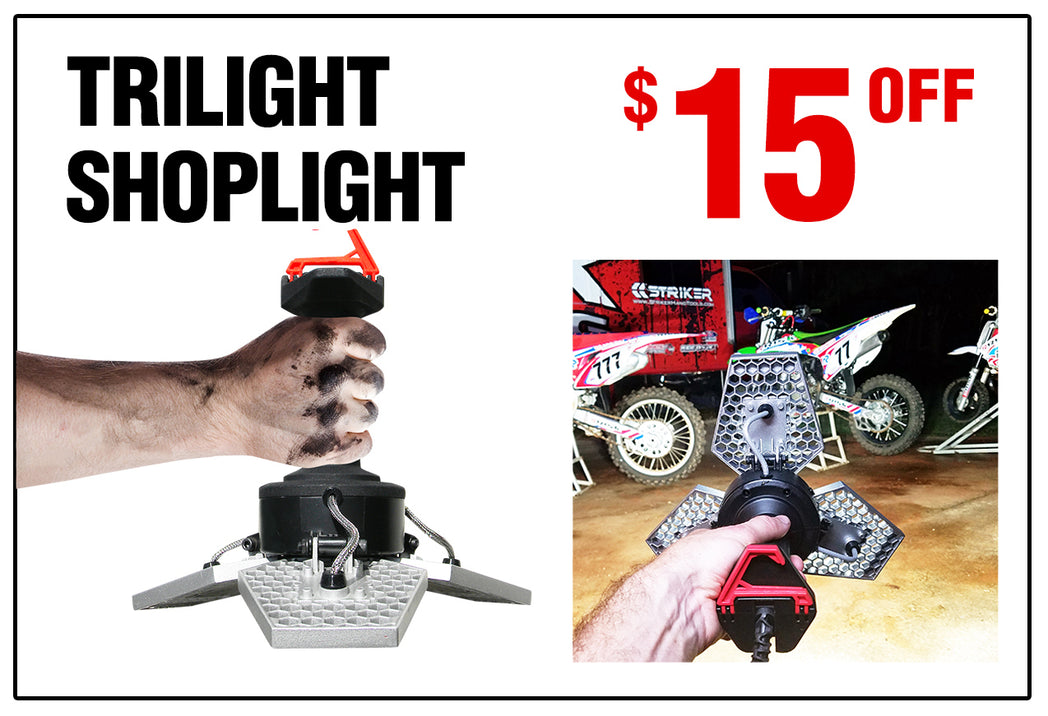 Deal of the Month - $15 Off TRiLIGHT ShopLight