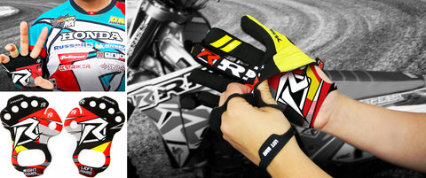 Risk Racing Palm Protectors for Motocross Blister protection